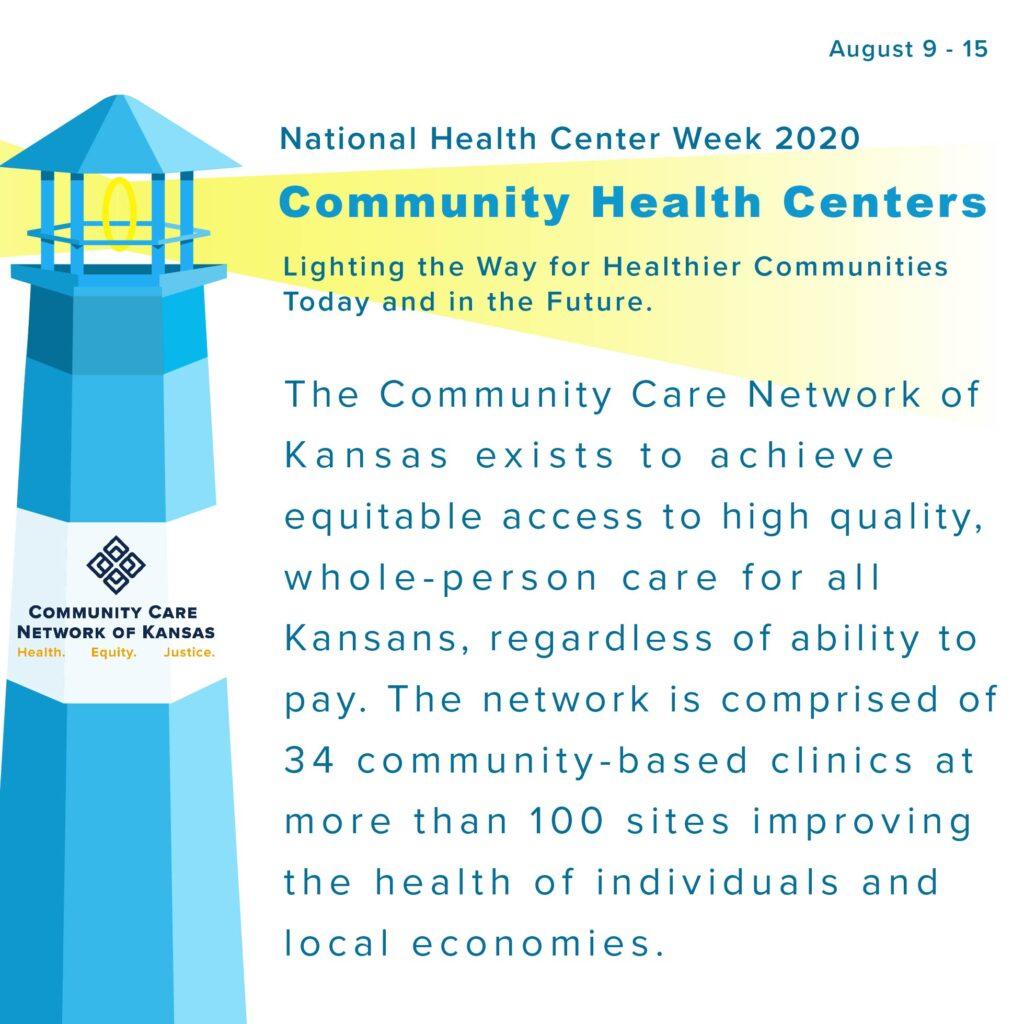 Community Care Network of Kansas National Health Center Week 2020 Message.