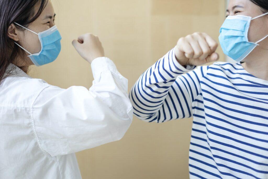 Coronavirus Facts: Practice social distancing